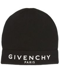 Givenchy Paris Beanie - Black