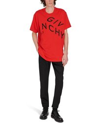 Givenchy T-Shirt Logo - Rouge