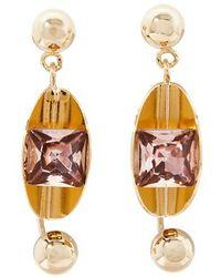 Erdem - Jewel Earrings - Lyst