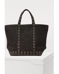 3707d6e075 Céline Céline Small Eyelets Leather Shoulder Bag in Black - Lyst