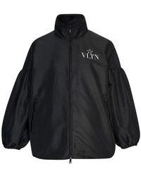Valentino Pea Jacket - Black