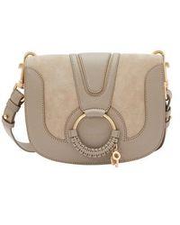 See By Chloé - Hana Shoulder Bag Goat Leather Acerola - Lyst