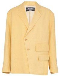 Jacquemus Novi Jacket - Yellow