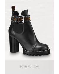 Louis Vuitton Star Trail Chelsea Ankle Boot - Black