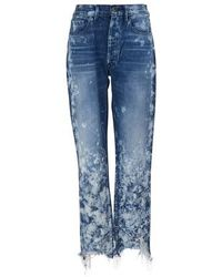 3x1 W3 Higher Ground Crop Jeans - Blue