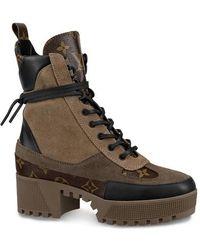 Louis Vuitton Laureate Desert Boot - Natural