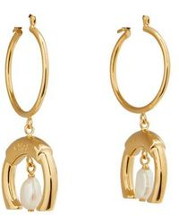 Chloé Darcey Earrings - Metallic
