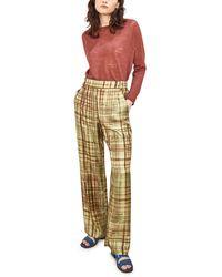 Momoní Cagliari Pants In Printed Twill - Multicolour