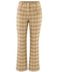 Rejina Pyo Finley Trousers - Natural