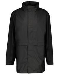 Rains Tracksuit Jacket - Black