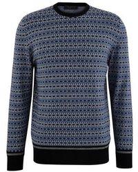 Prada Wool Sweater - Blue