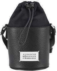 Maison Margiela 5ac Micro Bucket Bag - Black