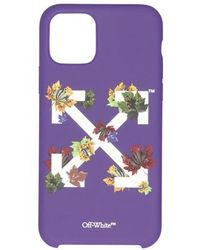 Off-White c/o Virgil Abloh Arrow Stamp Phone Case - Iphone 11 Pro - Purple