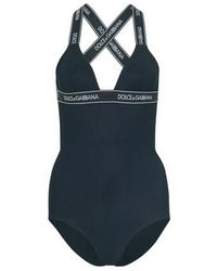 Dolce & Gabbana One-piece Swimsuit - Black