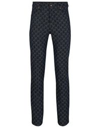 Gucci Eco-washed GG Pants - Blue