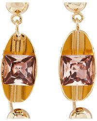 Erdem Jewel Earrings - Metallic