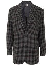 Isabel Marant Gixy Coat - Grey