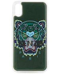 KENZO Tiger 3d X Iphone Case - Green