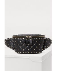 Valentino Gavarani Studded Belt Bag - Black