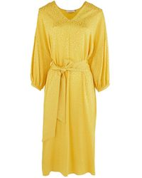 Roseanna Blondie Shades Dress - Yellow