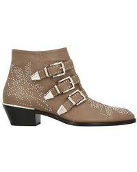 Chloé Susanna Ankle Boots - Brown