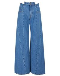 Maison Margiela 5-pocket Pants - Blue