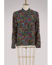 Vanessa Seward Bamboo Cotton Shirt - Multicolour