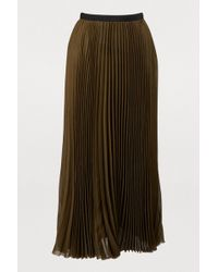 Gauchère - Marquise Pleated Skirt - Lyst