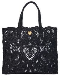 Dolce & Gabbana Beatrice Large Bag - Black