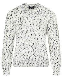 A.P.C. Daphne Sweatshirt - Multicolor