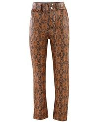 Roseanna Wide Trousers - Brown