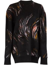 Givenchy Oversized Knitted Sweater - Black