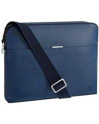 Louis Vuitton Anton Messenger Mm - Blue