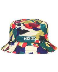 KENZO Bucket Hat Reversible - Multicolore