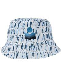 Isabel Marant Haley Bucket Hat - Blue