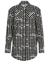 Courreges Cotton Shirt - Black