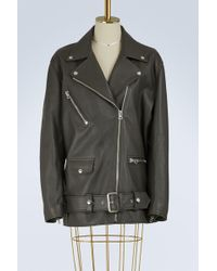 Acne | Myrtle Leather Jacket | Lyst