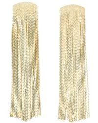 Anissa Kermiche Grande Fil D'or Earrings - Multicolour