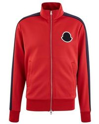 Moncler Maglia Zipped Cardigan - Red