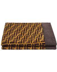 Fendi Beach Towel - Brown