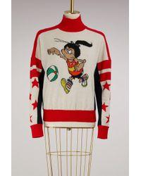 Stella McCartney - Beano Intarsia Wool Sweater - Lyst