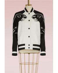 Valentino - Panther Wool Jacket - Lyst