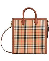 Burberry Cabas Bag Kane - Natur