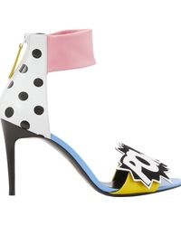 Pierre Hardy Oh Roy Pow Heeled Sandals - Multicolour