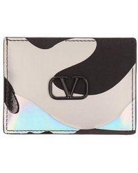 Valentino Garavani Camospace Card Holder - Black