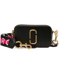 "Marc Jacobs Snapshot "" Cross-body Bag"" - Black"