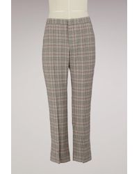 Isabel Marant - Cotton Kansley Trousers - Lyst