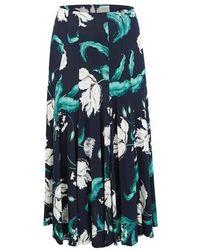 Erdem Vesper Skirt - Blue
