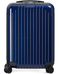 Rimowa Koffer Essential Lite Cabin S - Blau