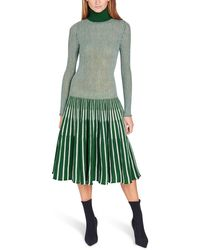 Thebe Magugu Knitted Dress - Green